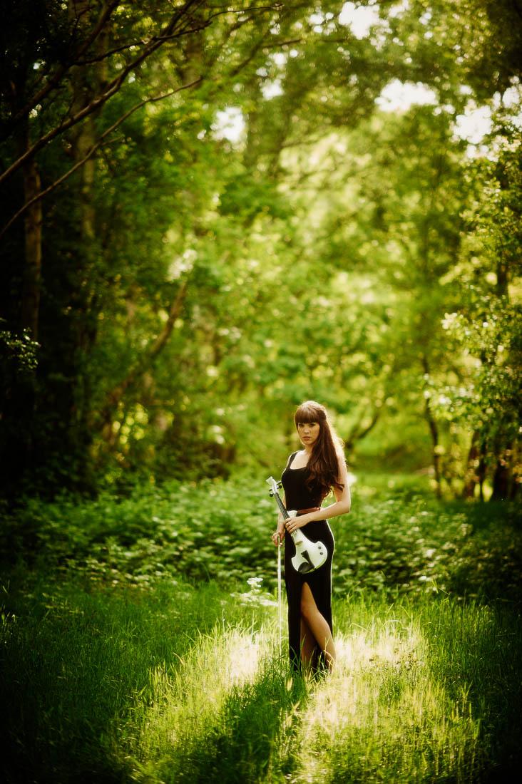 Walking in the woods....
