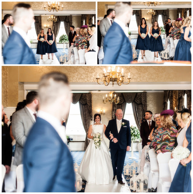 lisa walking down aisle